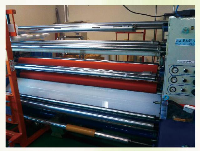 三ツ矢産業/2000mm幅/大型ラミネーター
