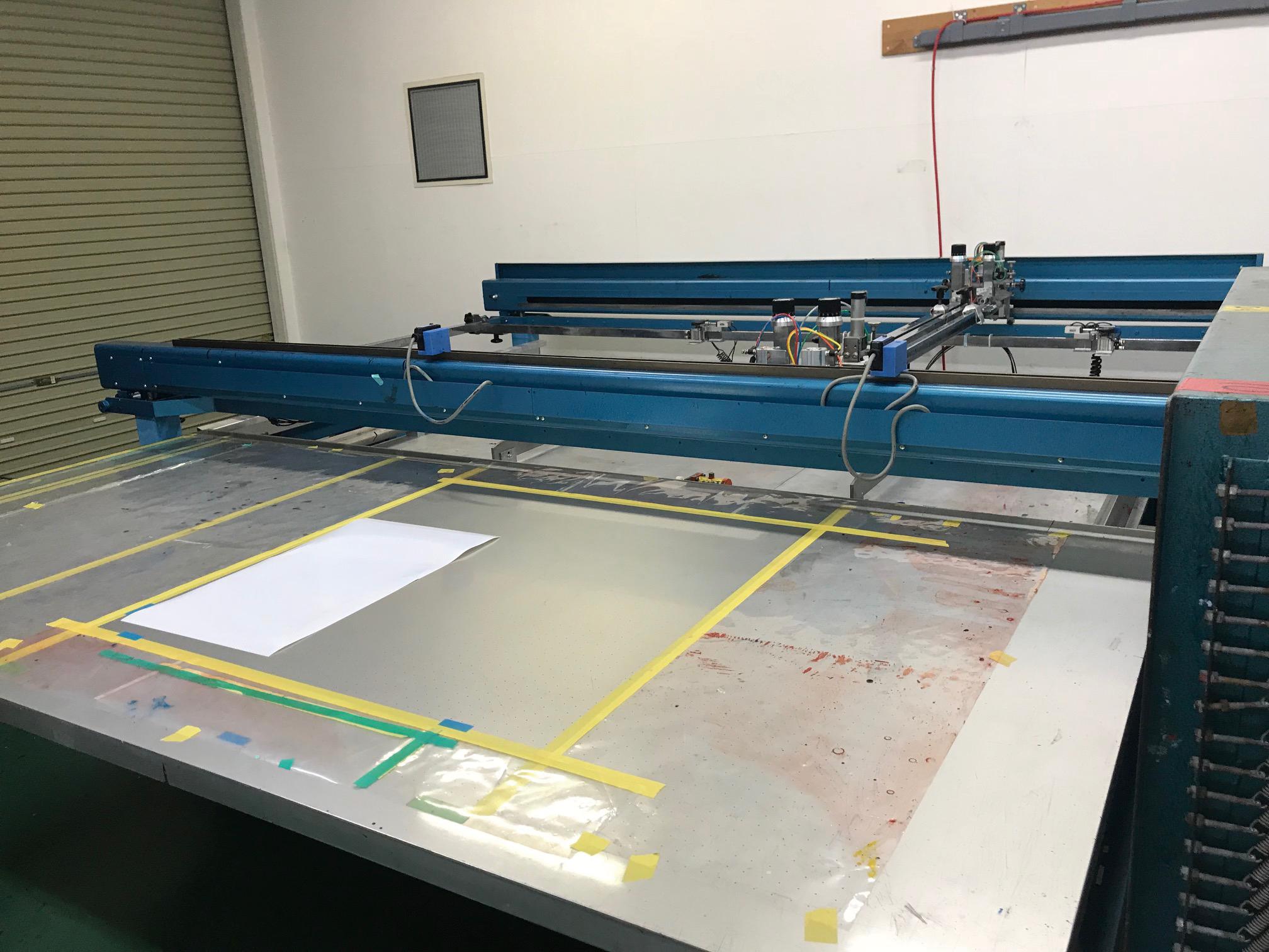 三ツ矢産業/スクリーン印刷機